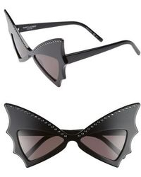 Saint Laurent - Jerrybat 54mm Sungasses - - Lyst