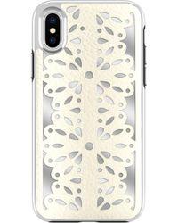 Rebecca Minkoff - Luxury Calls Laser Lace Iphone X/xs Case - - Lyst