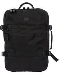Bric's X-travel Montagna Travel Backpack - Black