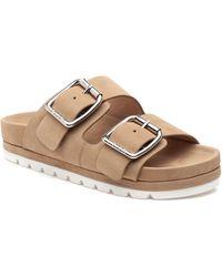J/Slides Roget Slide Sandal - Natural
