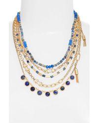 Treasure & Bond - Five-layer Stone Necklace - Lyst