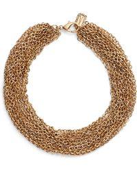 Karine Sultan Adeline Collar Necklace - Metallic
