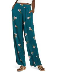 Billabong Hi Surf Wide Leg Pants - Blue