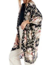 Sole Society - Romantic Floral Kimono - Lyst