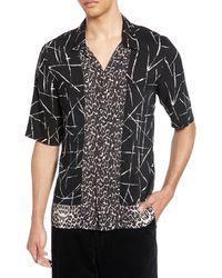 AllSaints Stix Shirt - Black
