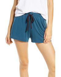 Tommy John Lounge Shorts - Blue