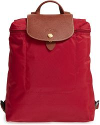 Longchamp - 'le Pliage' Backpack - Lyst