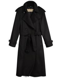 Burberry - Eastheath Cashmere Trench Coat - Lyst