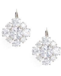 Nina - Crystal Drop Earrings - Lyst