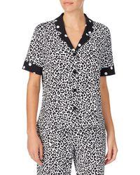 Room Service Pajama Top - Black