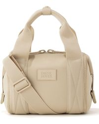 Dagne Dover Extra Small Landon Carryall Duffle Bag - Natural