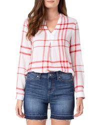 Liverpool Jeans Company - Pullover Mandarin Collar Shirt - Lyst
