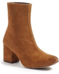 Free People Cecile Block Heel Bootie - Multicolour