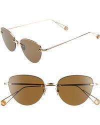 Ahlem - Dalida 53mm Cat Eye Sunglasses - Lyst