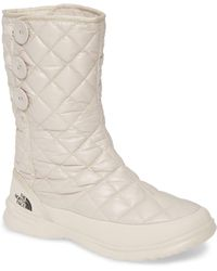 The North Face Thermoballtm Insulated Snow Boot - Natural