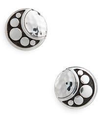 John Hardy - Hammered Dot Stud Earrings - Lyst