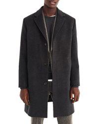 J.Crew Ludlow Wool & Cashmere Topcoat - Black