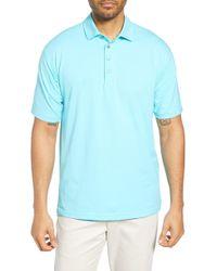 Bobby Jones Liquid Cotton Stretch Jersey Polo - Blue