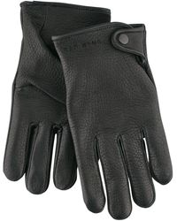 Red Wing Leather Driving Gloves - Black