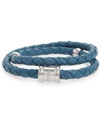 Miansai | Braided Leather Bracelet | Lyst