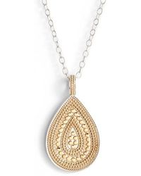 Anna Beck - Signature Reversible Long Necklace - Lyst