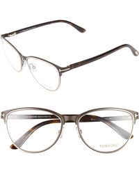 7ffcee944a Lyst - Tom Ford Brown Tortoiseshell Tf5294 Optical Glasses in Brown