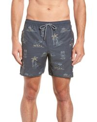 Rhythm - Maui Beach Swim Trunks - Lyst