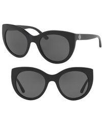 Tory Burch - 51mm Cat Eye Sunglasses - Lyst
