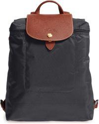 Longchamp Le Pliage Nylon Backpack - Black