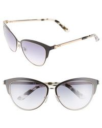 Calvin Klein - 57mm Cat Eye Sunglasses - Lyst