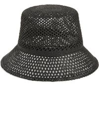 414a2734d Mint By Goorin Bros. Open Weave Stitched Panama Hat in Natural - Lyst