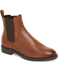 Vagabond Amina Chelsea Leather Boots - Brown