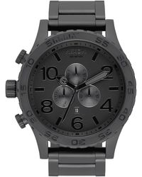Nixon 'the 51-30 Chrono' Watch - Black