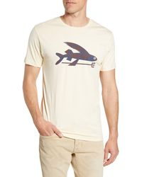 Patagonia - Flying Fish Regular Fit Organic Cotton T-shirt - Lyst