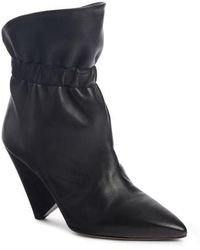 Isabel Marant - Lileas Cinched Bootie - Lyst