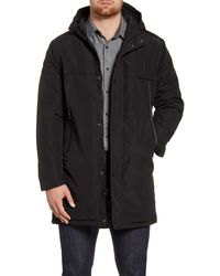 Andrew Marc - Cagney Water Resistant Hooded Coat - Lyst