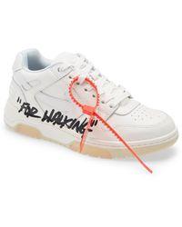 Off-White c/o Virgil Abloh Out Of Office For Walking Sneaker - White