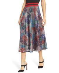Splendid - X Margherita Brillare Midi Skirt - Lyst