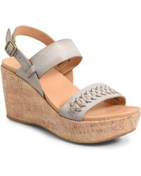 Kork-Ease - Austin Braid Wedge Sandal - Lyst