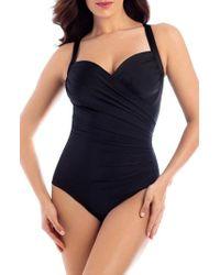 Miraclesuit - Miraclesuit 'sanibel' Underwire One-piece Swimsuit - Lyst