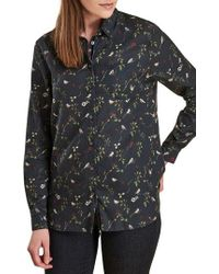 Barbour - Siskin Button Front Shirt - Lyst