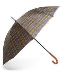 Barbour - Tartan Golf Umbrella - Lyst