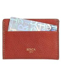 Bosca - Leather Card Case - Lyst