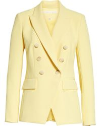 Veronica Beard Lonny Dickey Jacket - Yellow