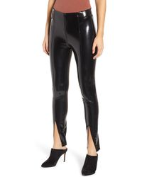 Blank NYC - Patent Faux Leather Leggings - Lyst