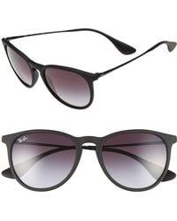 2ecae591a784d Lyst - Persol Polarized Keyhole Wayfarer Sunglasses in Black for Men