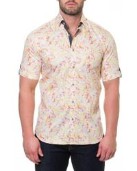 Maceoo - Fresh Synapse Slim Fit Sport Shirt - Lyst