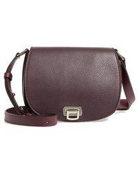 Shinola - Calfskin Leather Shoulder Bag - - Lyst