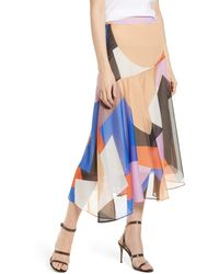 Rebecca Minkoff Monica Midi Skirt - Multicolor