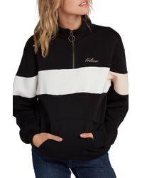 Volcom Short Staxx Pullover - Black